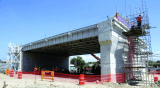 Delmas overpass construction