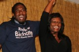 Councilman Jumaane Williams and Rodneyse Bichotte, winner of the Democratic primary for the  42nd District State Assembly