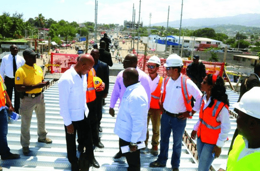 Overpass Construction Underway In Delmas