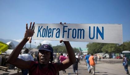 Haiti cholera outbreak UN