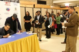 Book signing at Hofstra University photo credit: Garry  Pierre-Pierre