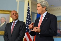 john kerry and martelly
