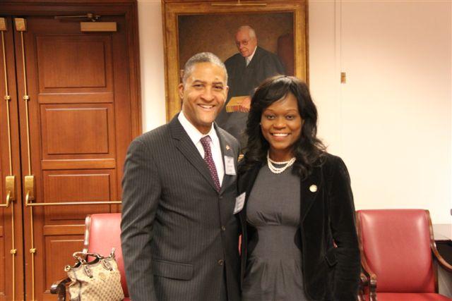 Judge Raymond Lohier and Assemblywoman Rodneyse Bichotte