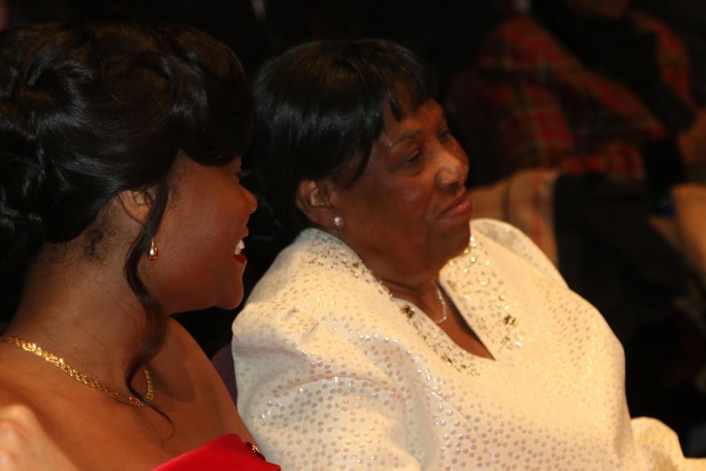 Assemblywoman Rodneyse Bichotte and mother