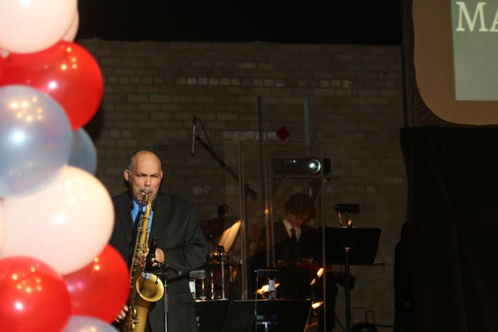 Saxophonist Buyu Ambroise