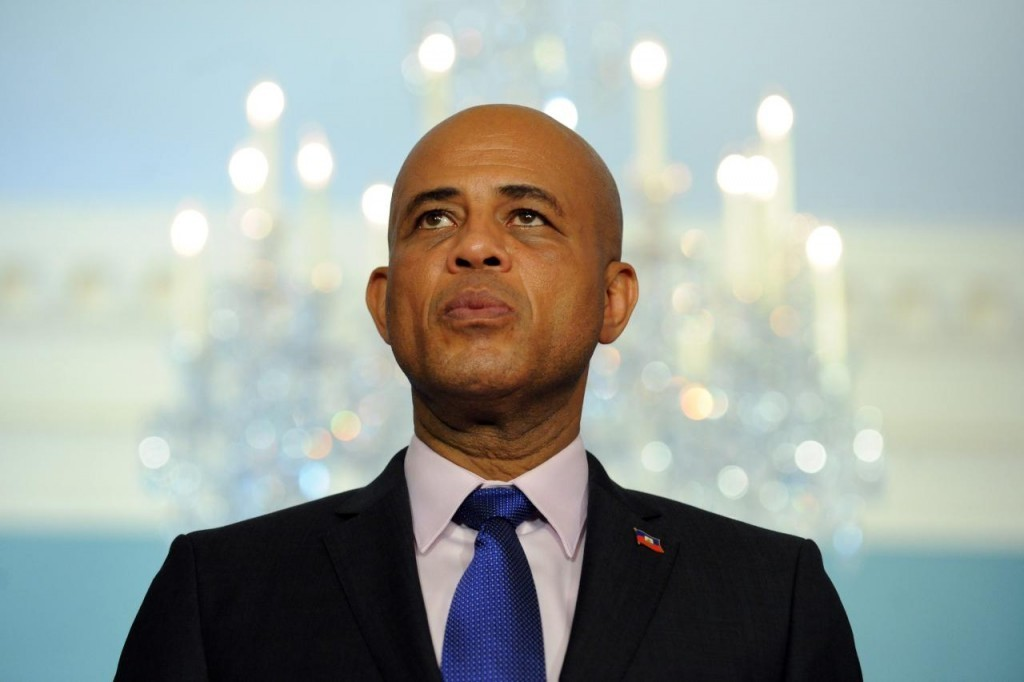 Former President Michel Martelly