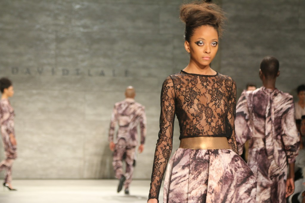 Ditching The Layers: David Tlale Unveils FW15 Collection