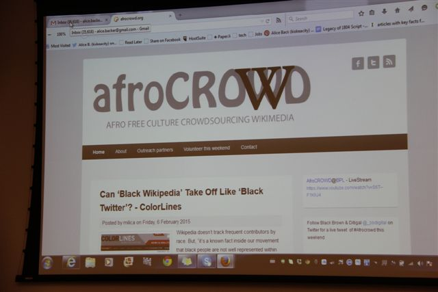 AfroCrowd: Owning Haitian History Through Digital Empowerment