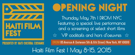 Haiti Film Fest Opening Night Reception