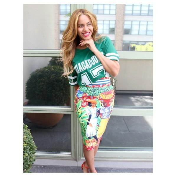 Beyonce Makes Third Appearance Wearing Haitian Fashion Designer Stella Jean