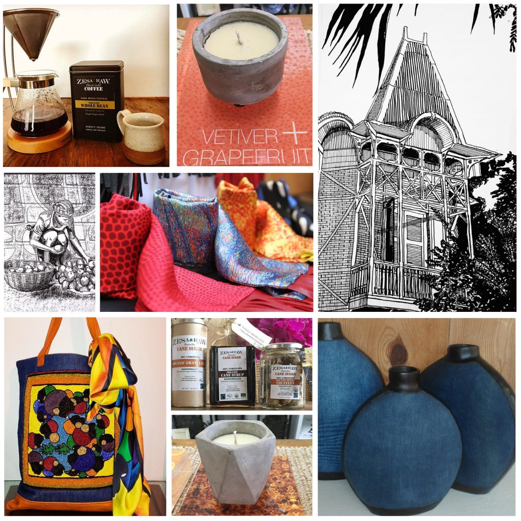 """Haiti Embassy Hosts Bien Abyé """"Les Jardins De La Mode"""" Pop-up Shop"""