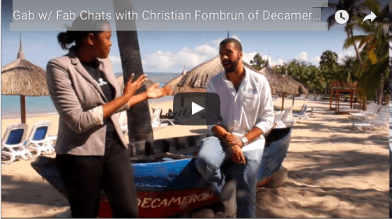 Gab w/ Fab Chats with Christian Fombrun of Decameron Haiti