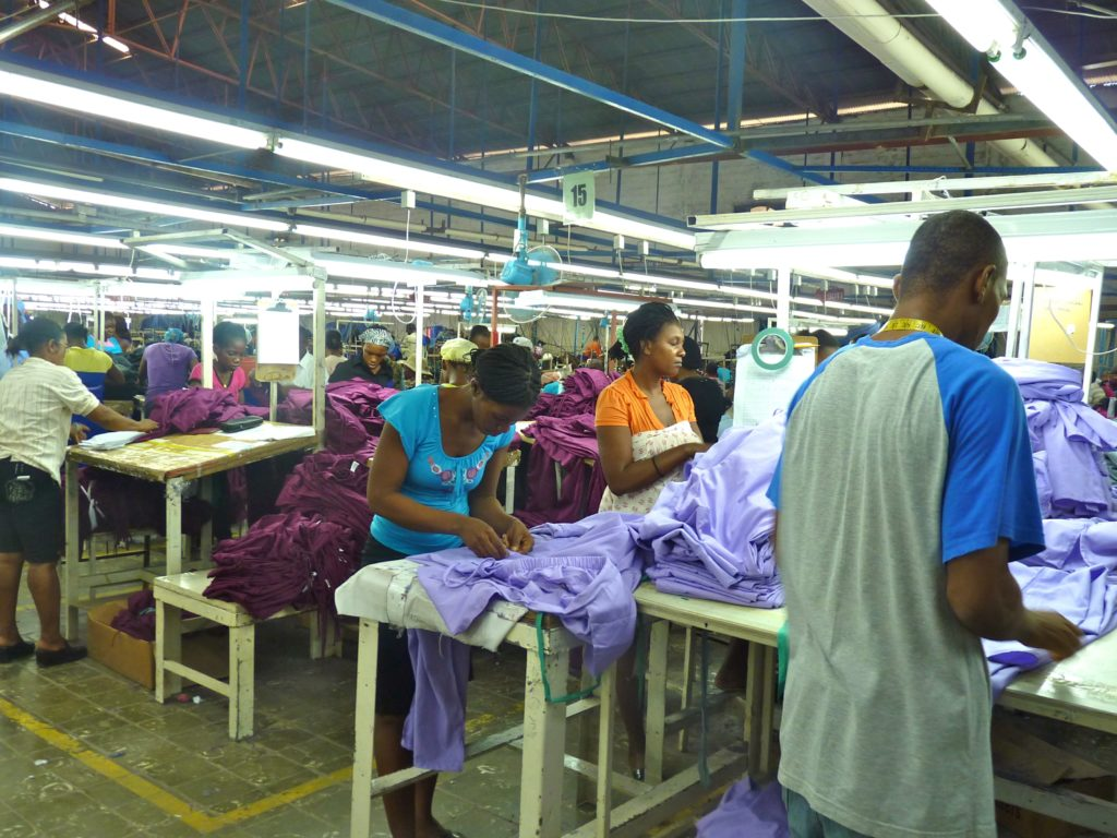 haiti factory garment