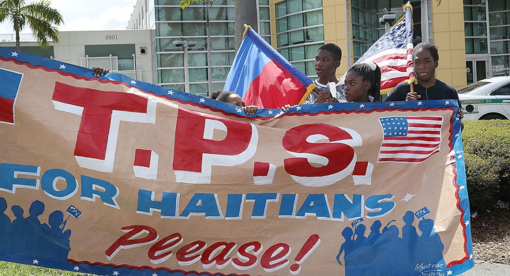 Haiti Seeks Extension of TPS