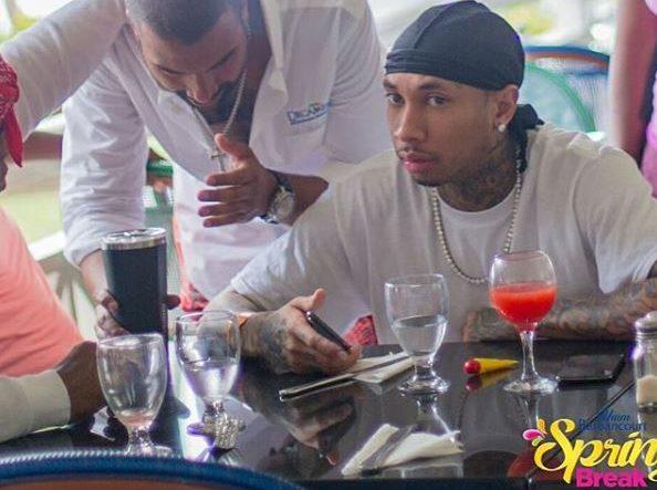 Rapper Tyga Travels to Haiti for Spring Break Bash