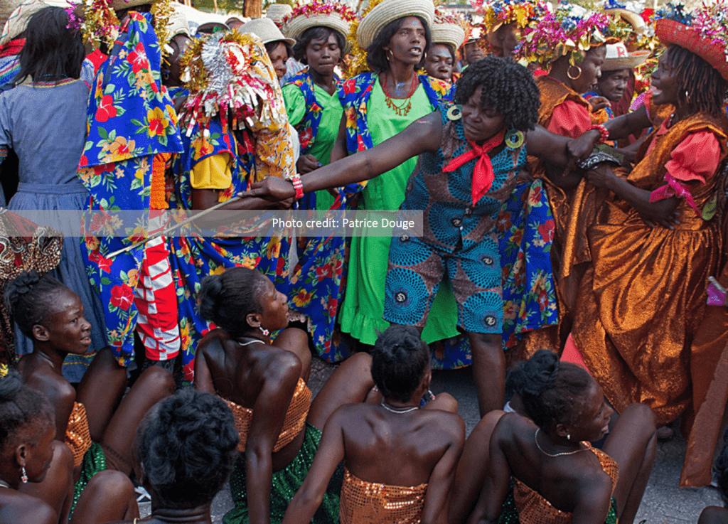 Haitian rara festival