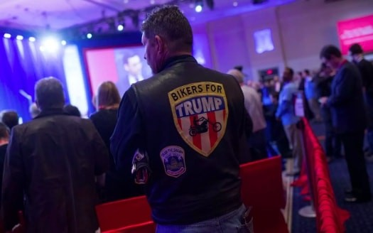 'Bikers for Trump' founder says he sells Trump shirts made in Haiti because American-made products are too expensive