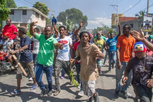 Haitians Take to the Streets Once More to Protest Alleged Misuse of Petrocaribe Funds