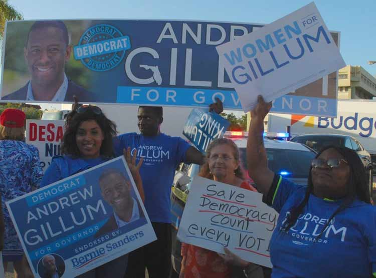 Florida passions remain high as voters converge in Lauderhill