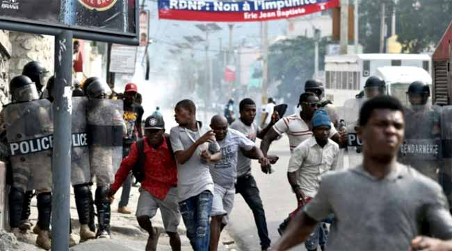 Change in Haiti government likely over opposition protests