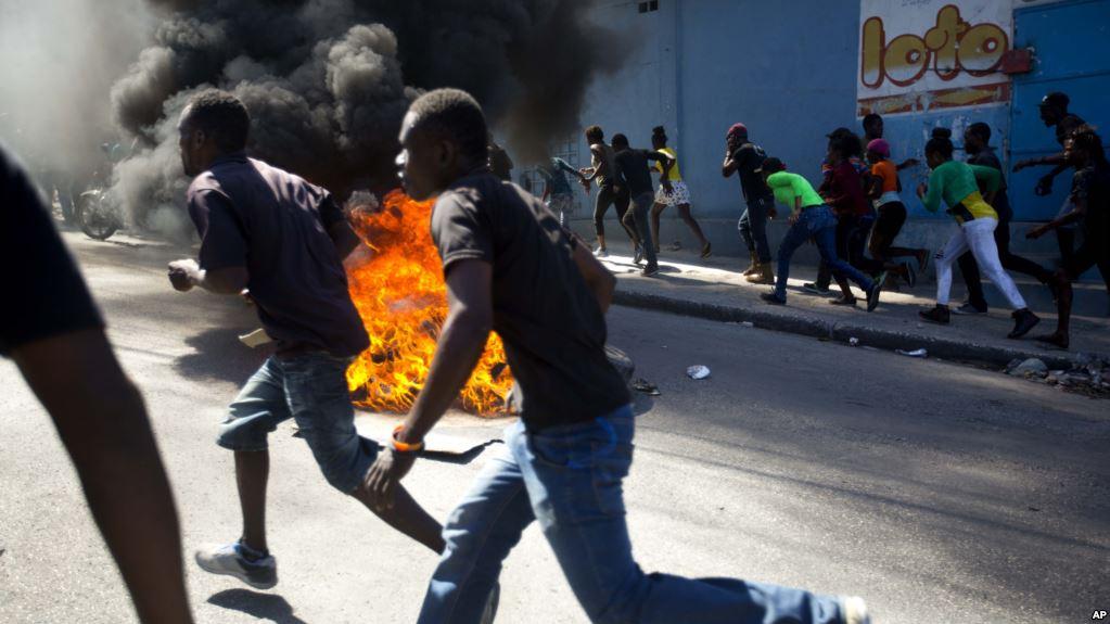 US Deplores Haiti Violence