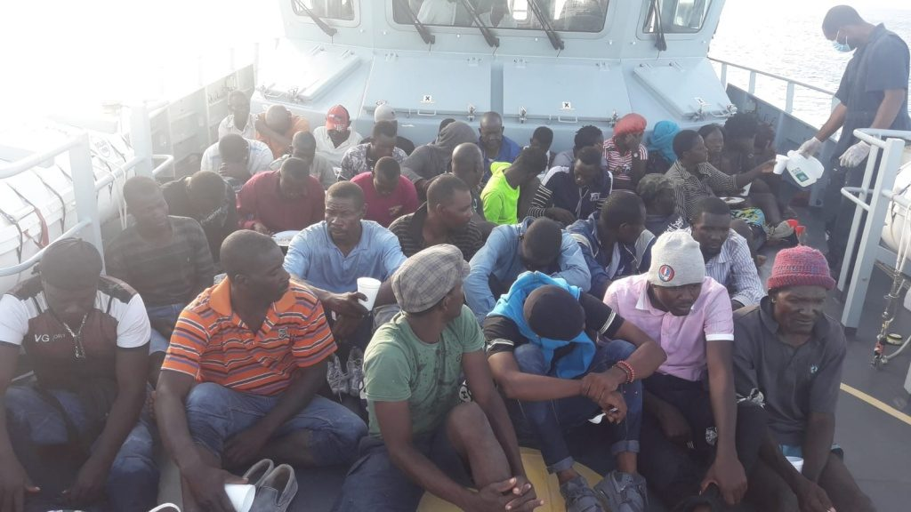 Haitian migrants detained in Bahamas