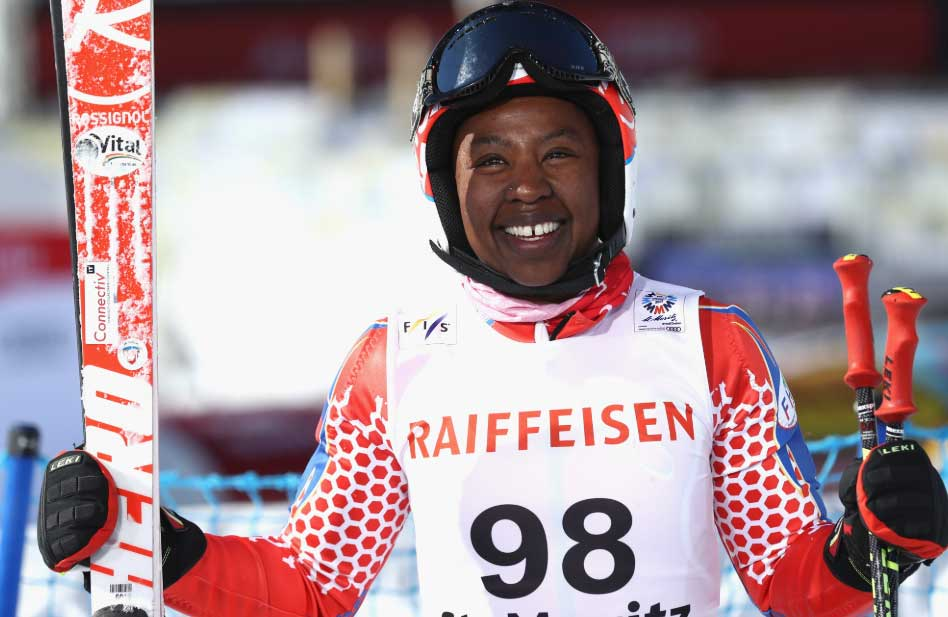 Marti aiming to be first skier from Haiti to compete at Winter Olympics in 2022