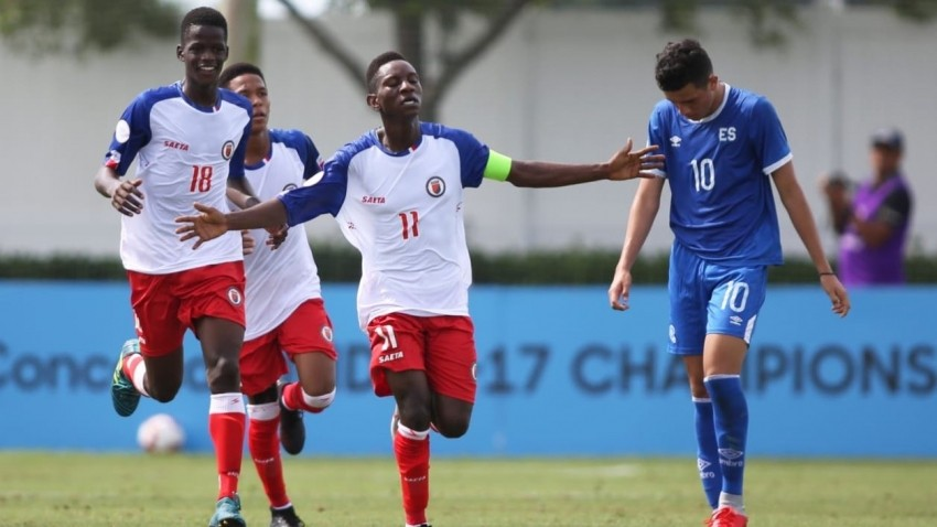 Haiti, the only remaining Caribbean interest among CONCACAF U17s