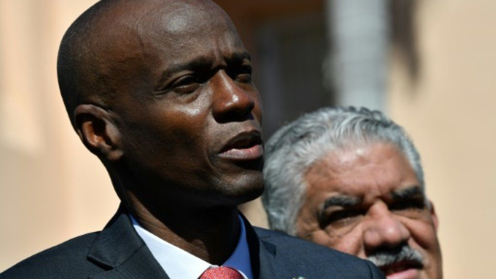 Accused by judges, Haitian president denies corruption allegations