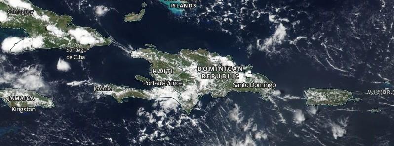 Heavy rainfall hits Haiti, floods leave at least 5 people dead and 3 missing