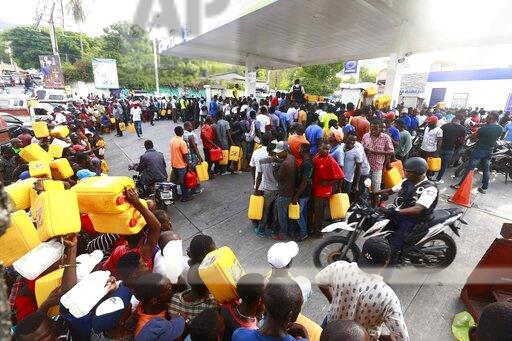Gas shortages paralyze Haiti, triggering protests against failing economy and dysfunctional politics