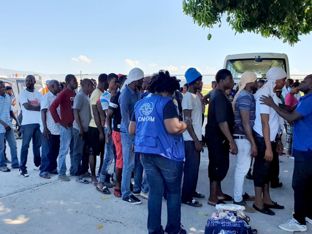 340 Haitian Migrants Repatriated from the Bahamas