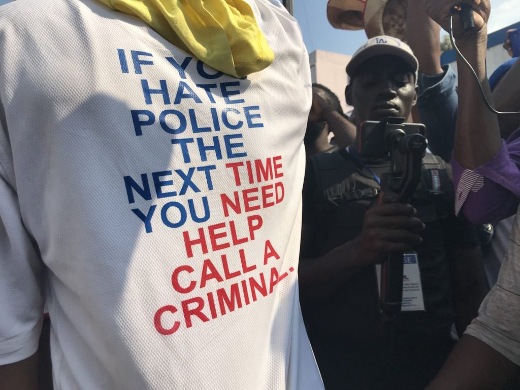 Haiti Police Call for Right to Unionize