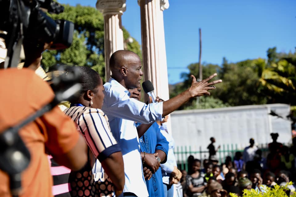 Moïse Calls for Support As He Begins Infrastructure Tour