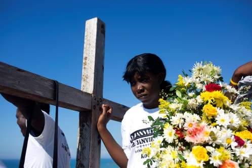 UN honours Haiti earthquake victims