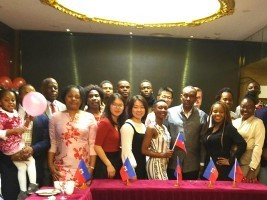 Haitian students in China celebrate Independence Day