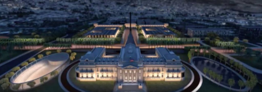 Moise Announces Winner of Haiti National Palace Design Competition