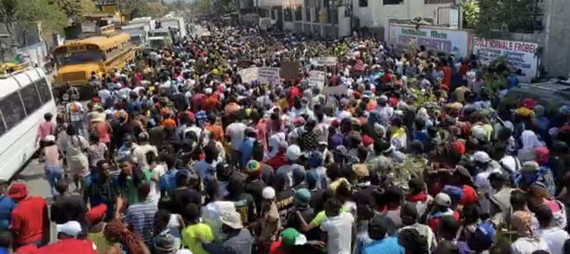Large protests in Fontamara, Martissant and Port-au-Prince against insecurity