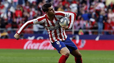 Morata looks to become Atletico Madrid's next big hitter