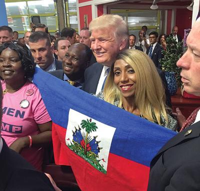 haitians for trump 2016 in Miami