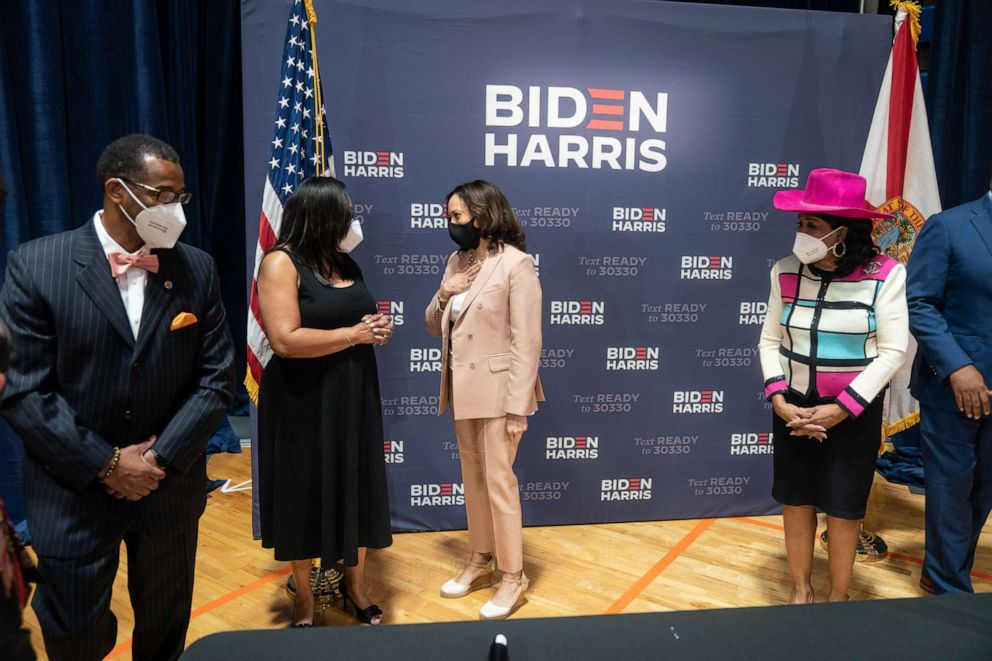 Kamala Harris Florida Caribbean Voters