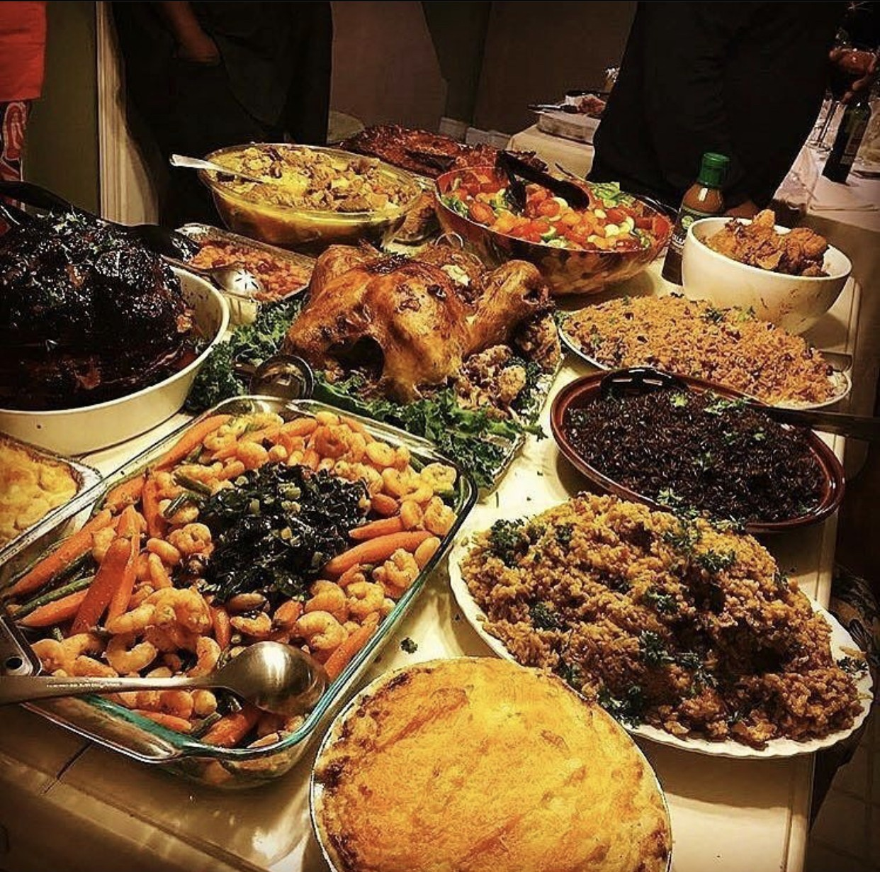 Haitian Thanksgiving Food