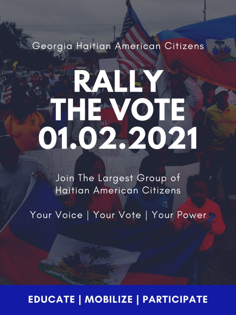 rally the vote haitian community