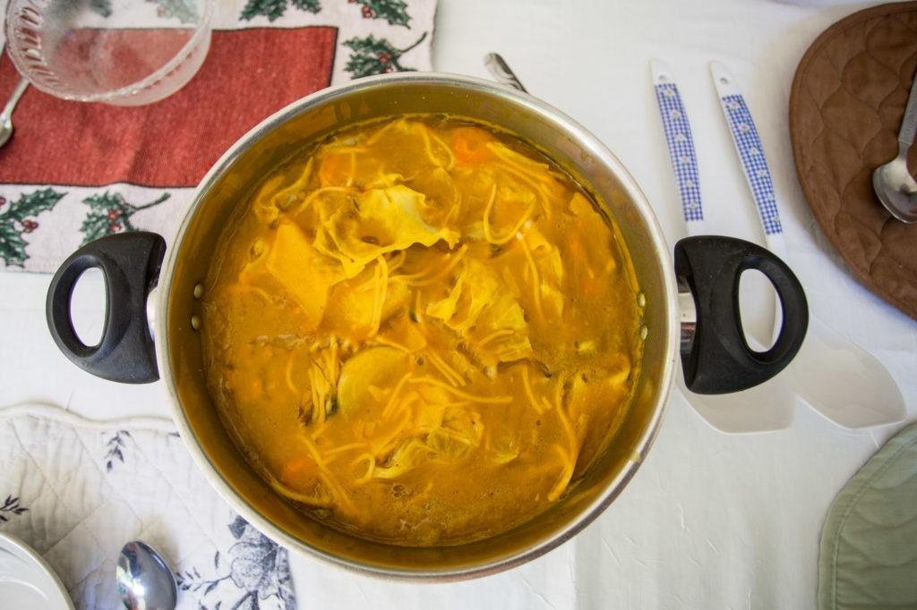 Haitian Soup Joumou, Haselhoef