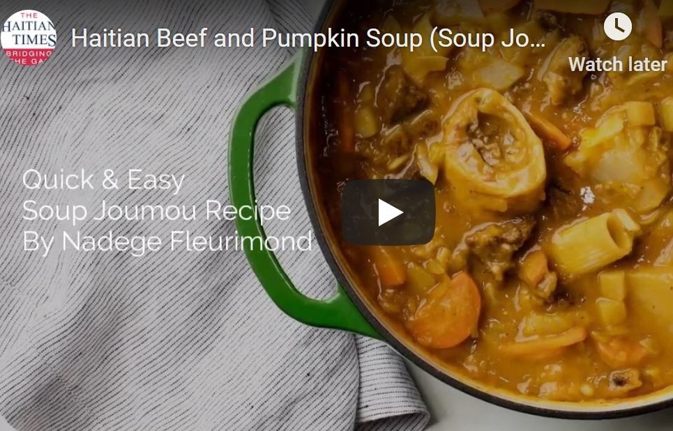 Haitian soup joumou controversy