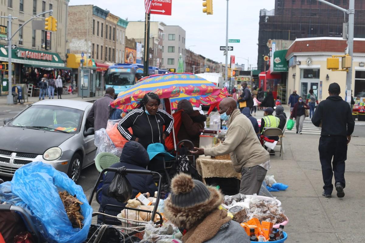 haitian street vendors